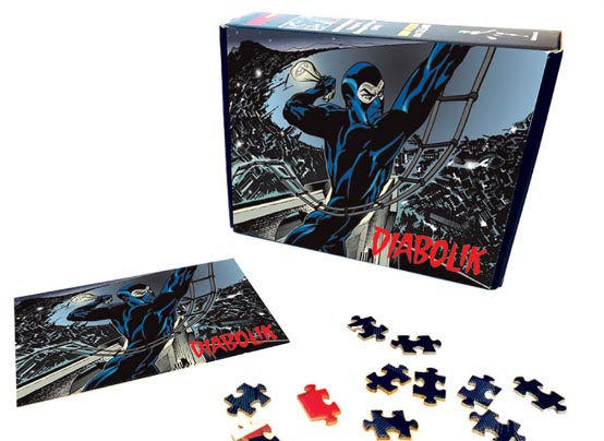 Puzzle Diabolik - Colpo su colpo